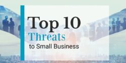 Top 10 threats to small business header