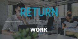 Return to work header