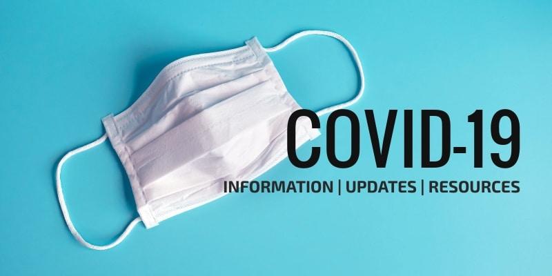 Covid Information Header image