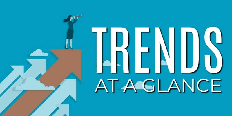 Trends at a glance header