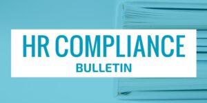HR Compliance Bulletin header image