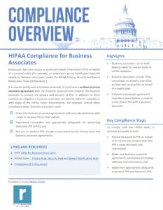 HIPAA Compliance for Business Associates