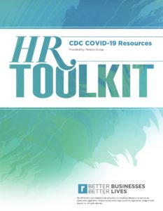 HR Toolkit - CDC COVID-19 Resources