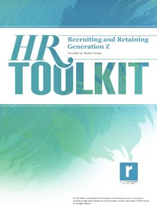 HR Toolkit - Recruiting and Retaining Generation Z