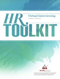 HR Toolkit - Virtual Interviewing