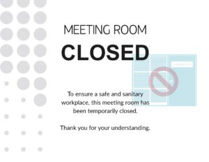 Meeting-Room-Closed-Poster