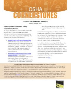 OSHA Safety Cornerstones Q2 2020