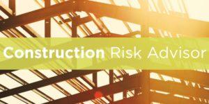 Construction Risk Advisor Header