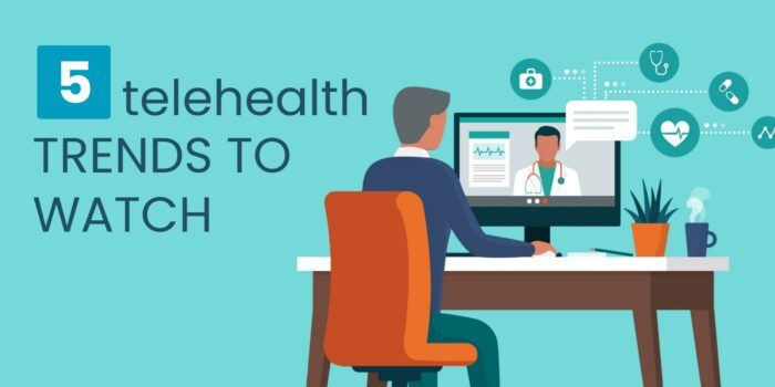 5 telehealth trends to watch header