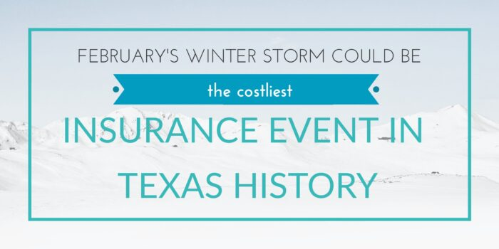 February 2021's winter storm could be the costliest insurance event in TX history header