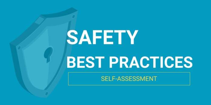 Safety Best Practices self-assessment header